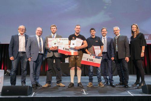 Die Siegerehrung fand auf der Werkstattbühne der Bregenzer Festspiele statt.