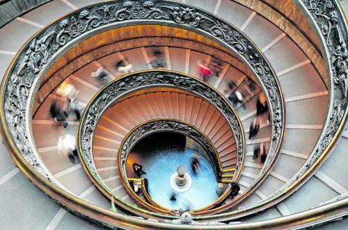 Die sixtinische Kapelle gehört zu den Highlights der Vatikanischen Museen.