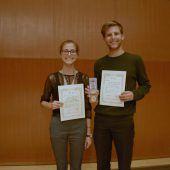 Duo Minerva holt Musikpreis