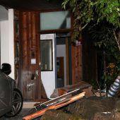 Detonation in Dornbirner Wohnhaus