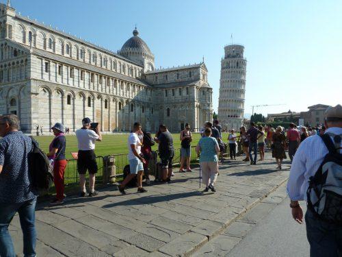 Ein Besuch des Schiefen Turms von Pisa durfte bei der Herbstreise nicht fehlen.sb hörbranz