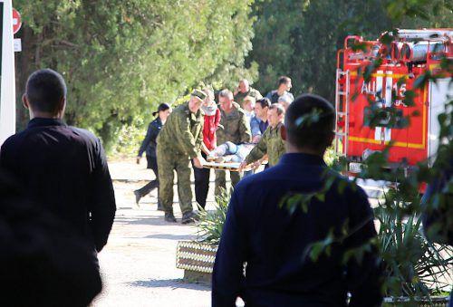 Ein Schüler hat an einer Berufsschule 17 Schüler erschossen und sich dann selbst getötet. Mehr als 40 Menschen wurden verletzt. Reuters