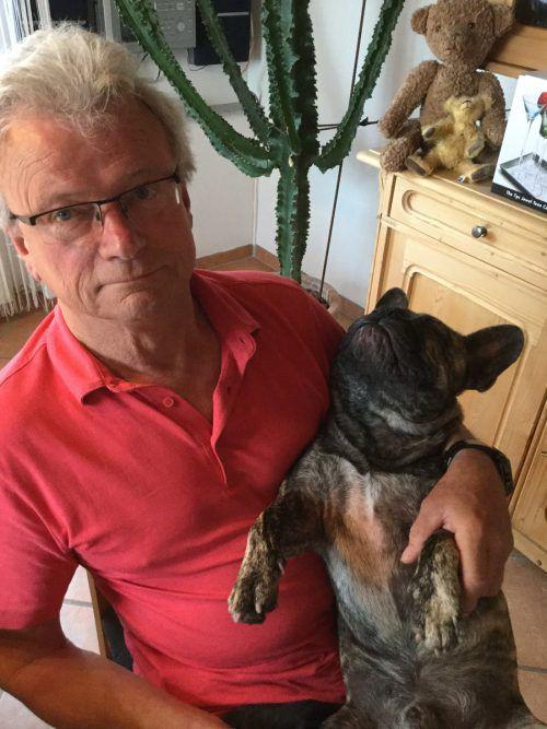 Einfach hundemüde: Herbert Florian aus Lustenau hat uns diesen tierischen Schnappschuss geschickt. Florian