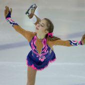 Olga Mikutina lief in einer eigenenKategorie