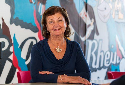 Elisabeth Miemelauer-Haider, ehemalige Turniertänzerin. VN/Stiplovsek