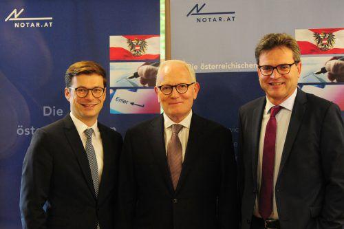 Experten: Andreas Huber, Manfred Umlauft und Richard Forster. Serra