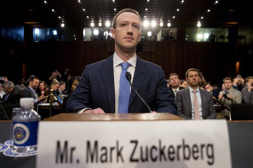 Facebook-Chef Marc Zuckerberg steht massiv in der Kritik.AP