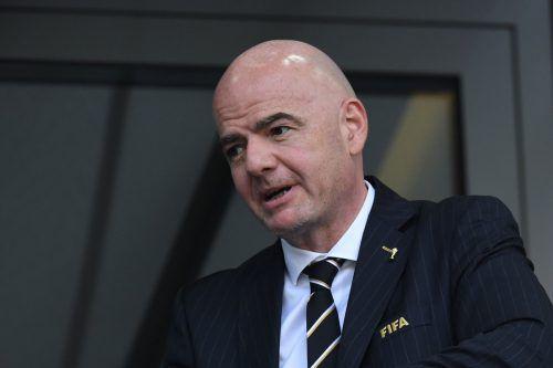 FIFA-Boss Gianni Infantino kämpft weiter für die Klub-WM.
