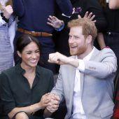 Ein Baby für Meghan und Harry. C8