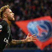 Drei Tore von Neymar