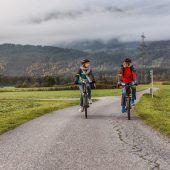 Fleißige Radfahrer
