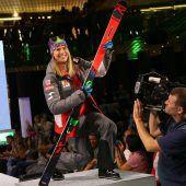 Für das Vorarlberger Ski-Ass Katharina Liensberger gab es neue Kleider. C5