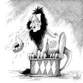 Bayrischer Löwe – vom Wähler gezähmt!