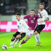 Österreich verliert in Dänemark 0:2