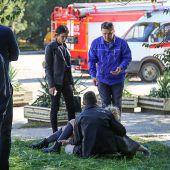 19 Tote bei Blutbad in einer Schule auf der Krim. D6