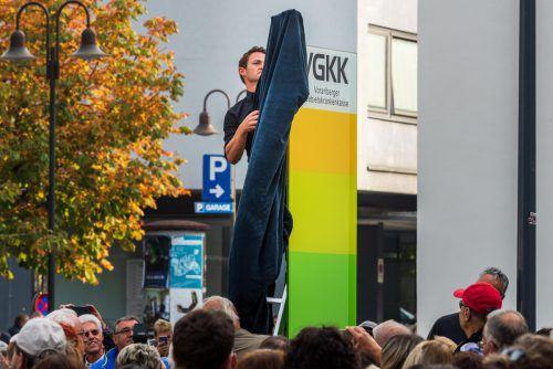 Im vergangenen Herbst wurde unter Mitwirkung Hunderter Demonstranten symbolisch der Untergang der Vorarlberger Gebietskrankenkasse eingeläutet.vn/stiplovsek