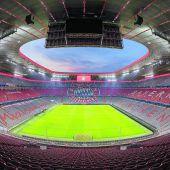 Licht für die Allianz Arena