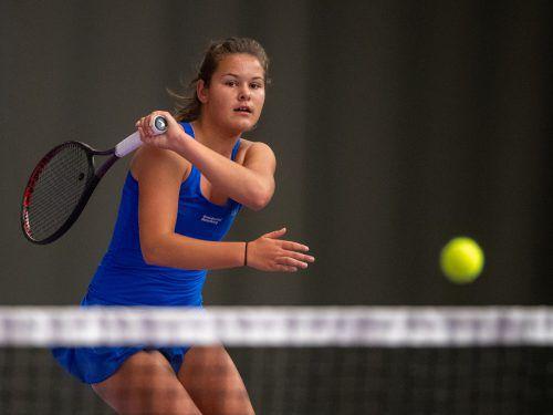 Emily Meyer ist aktuell bei ITF-Turnieren erfolgreich unterwegs.VN/Lerch