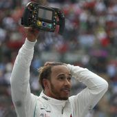 Lewis Hamilton kürte sich zum fünften Mal zum Formel-1-Weltmeister.C1