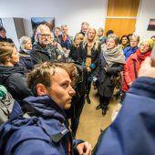 Proteste gegen Abschiebung einer Sulzberger Familie vorerst erfolgreich. A5