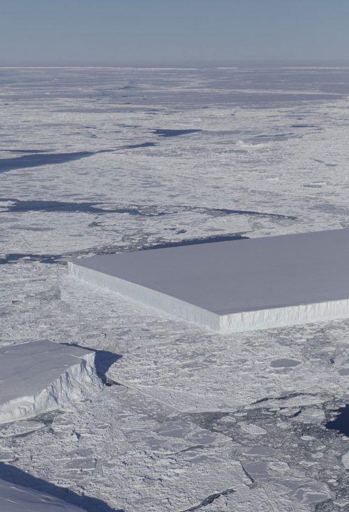 Forscher haben in der Antarktis einen seltenen Fund gemacht. NAsa