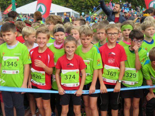 Fünf Podestplätze beim Kindermarathon und am nächsten Tag beim Marathon im Helfereinsatz bei km 10! tsbv