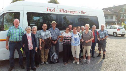 Für die rüstigen Rentner aus Koblach verbrachten einen schönen Tag auf der Alpe Gamp. Verein