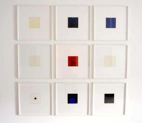 """Gassner: """"Ein abstraktes Bild ist die Summe von Erfahrungen."""" Bechter"""
