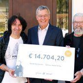 Getzner-Familienfest: 14.704 Euro für Stunde des Herzens