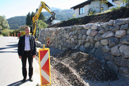 GR Rainer Hartmann ist für die Umsetzung des Verkehrskonzeptes zuständig. Gemeinde
