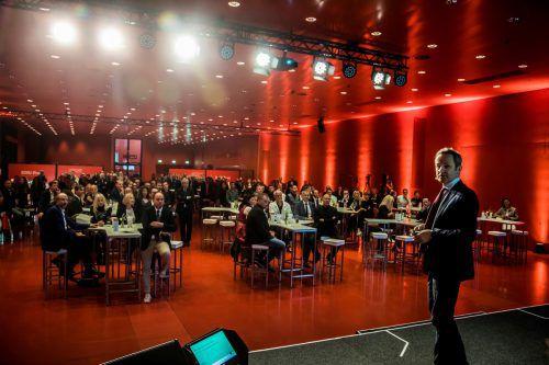 Großes Publikum für die ausgezeichneten Unternehmen in der Dornbirner Messehalle 12.