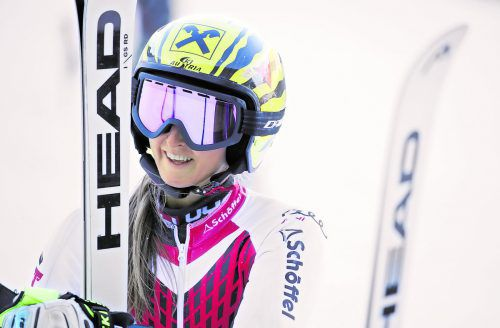 Gutes Gefühl im Riesentorlauf: Nina Ortlieb freut sich auf den Start beim Klassiker in Sölden.gepa
