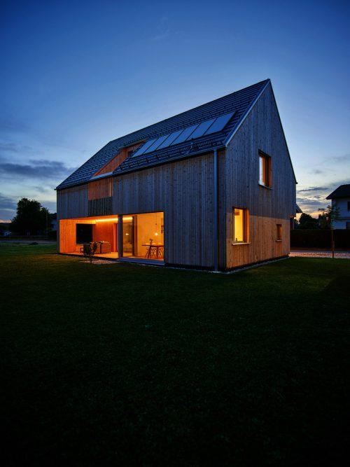 Häuser aus Holz stehen am Samstag in ganz Vorarlberg für Besucher offen.VHK