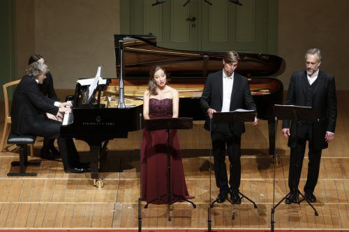 Herzlichen Beifall gab es zum Ausklang der Konzertreihe. Schubertiade