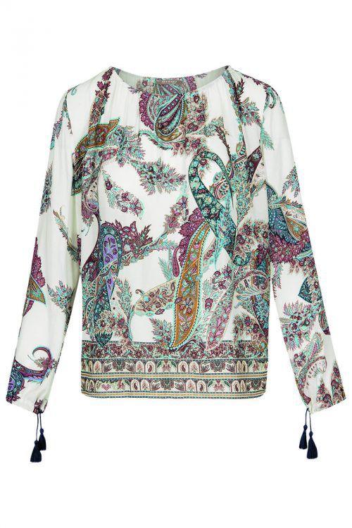 Hippie-Style             Leichte Bluse im Ethno-Look. Erhältlich bei Orsay um 29,99 Euro.
