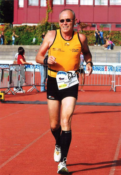 Horst Mayer ist auch im hohen Alter noch sehr aktiv. BI