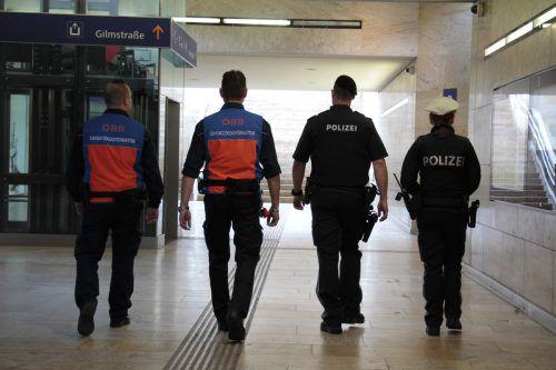 """""""Hotspot"""" Bahnhof Dornbirn: Sicherheitskräfte werden hier ständig zu Kontrollgängen angewiesen. öbb"""
