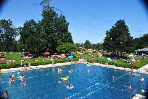 Im Freibad Rheinauen in Hohenems verbuchte man in der abgelaufenen Saison einen Besucherrekord. Gemeinde