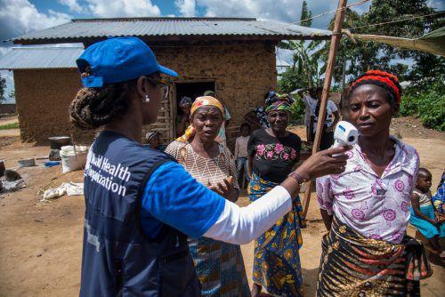 Im Kongo müssen Helfer wieder gegen eine Ebola-Epidemie kämpfen. Die Lage ist auch zwei Monate nach Ausbruch nicht unter Kontrolle.reuters