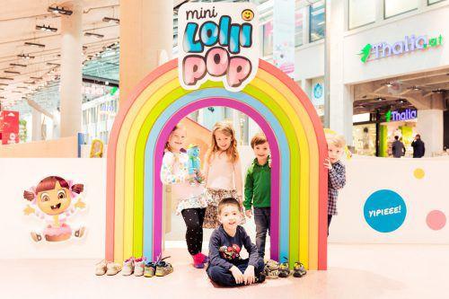 """Im """"Mini Lollipop"""" können sich Kinder künftig vergnügen. Q19"""