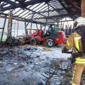 140 Feuerwehrleute im Großeinsatz