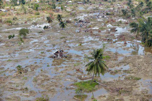 In Palu, Ortsteil Petobo, hat sich die Erde verflüssigt. AFP