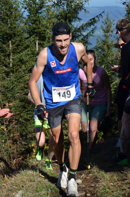 Daniel Zugg setzte beim Staufenlauf sportlich neue Maßstäbe.staufenlauf