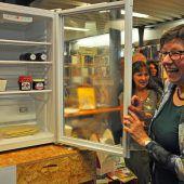 Ein Kühlschrank für alle in der Stadtbücherei