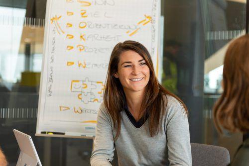 Janine Nagel, die neue HR-Leiterin bei Loacker Recycling. Loacker Recycling
