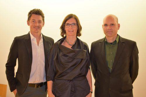 Klassenvorstände: Alexander Feurle, Maria Meusburger-Bereuter und Daniel Amann.