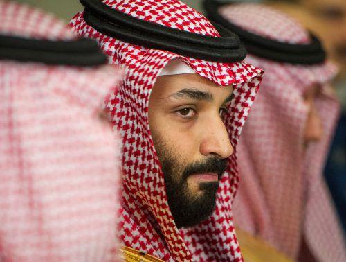 Kronprinz Mohammed Bin Salman wird stark belastet.AP