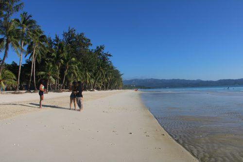 Künftig dürfen höchstens 19.200 Touristen zugleich die Insel betreten. AFP