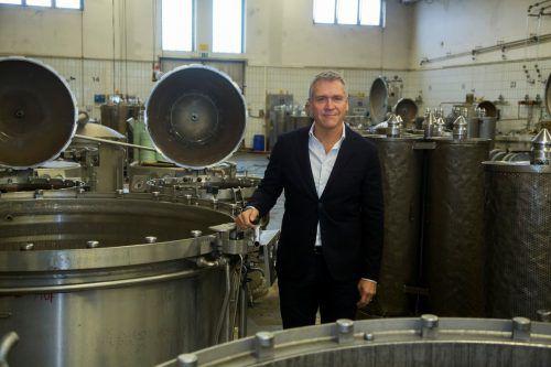 """Kurt Haselwander: """"Notwendige Power für unsere Strategie."""" VN/Paulitsch"""