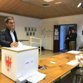 Südtiroler wählten Landtag